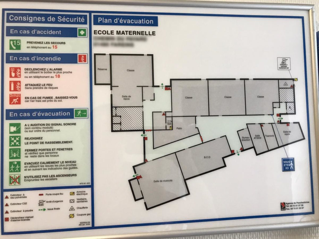 plan-evacuation-A3